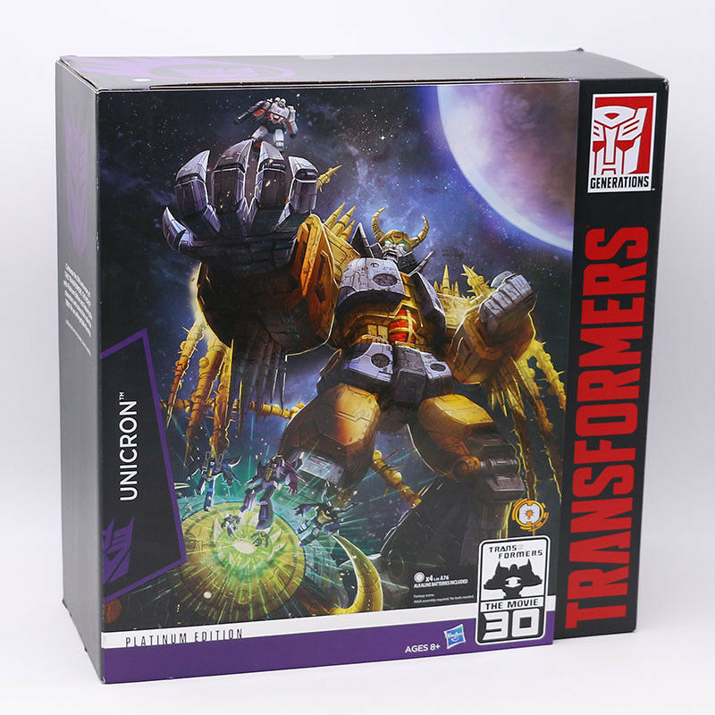 NEW Hasbro Transformers Autobots Robot IDW Platinum Series Unicron Figure
