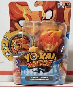 hasbro yo kai watch blazion medal moments yokai level5 feulion
