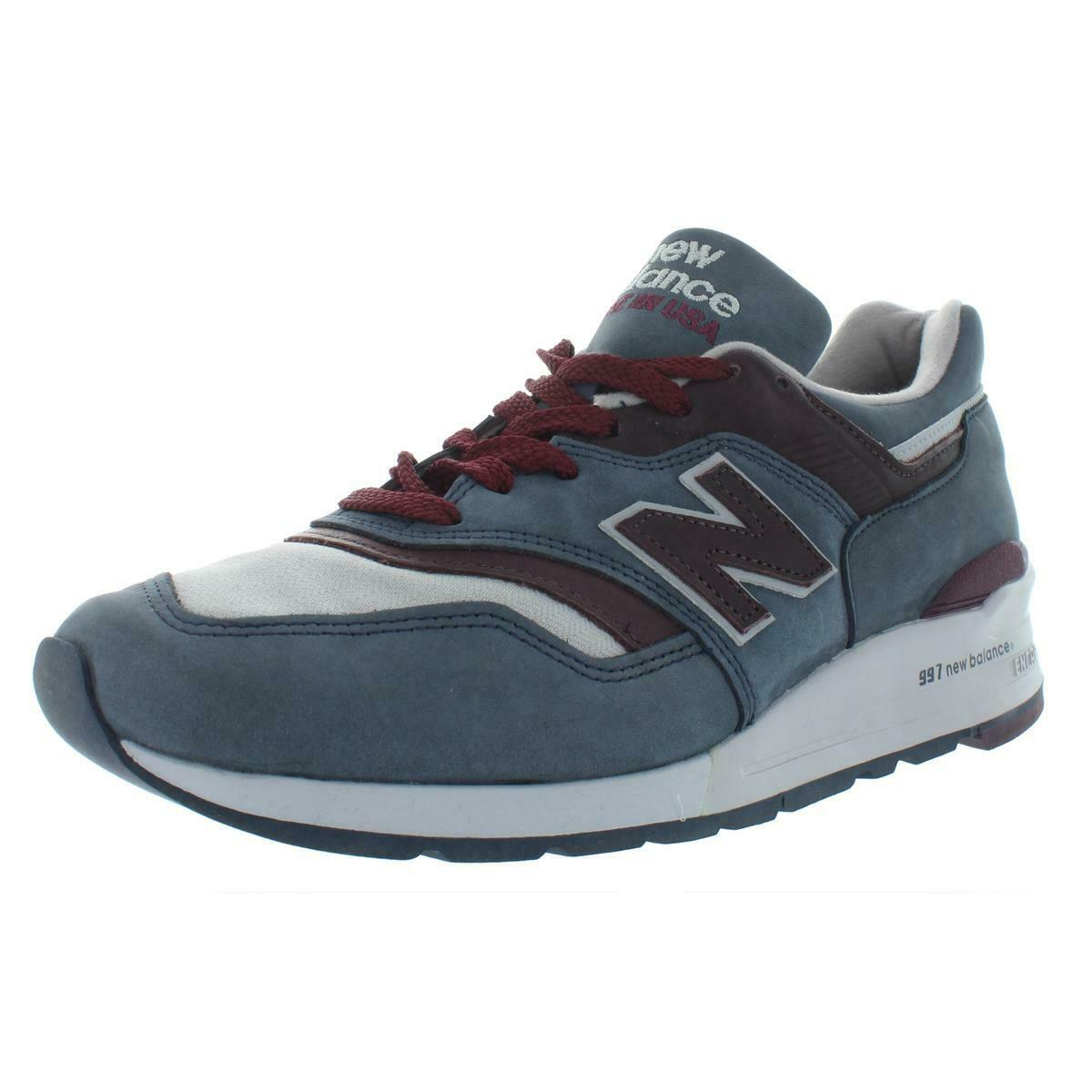 New Balance Mens bluee Low Top Casual Sneakers shoes 10.5 Medium (D) BHFO 8923