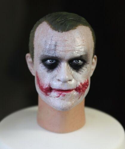 ██ Custom Bank Robber Joker 1.0 DX01 DX11 1//6 Head Sculpt for Hot Toys Body ██