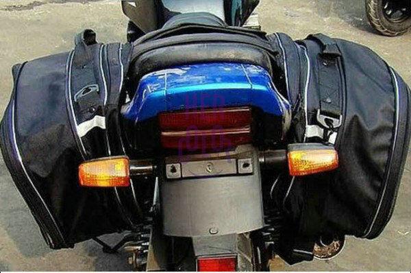 Left&Right Motorcycle Side Knight helmet Waterproof bag oxford fabric bag