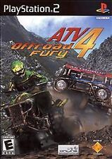 ATV Offroad Fury 4 (Sony PlayStation 2, 2006) Disc Only-Free Shipping