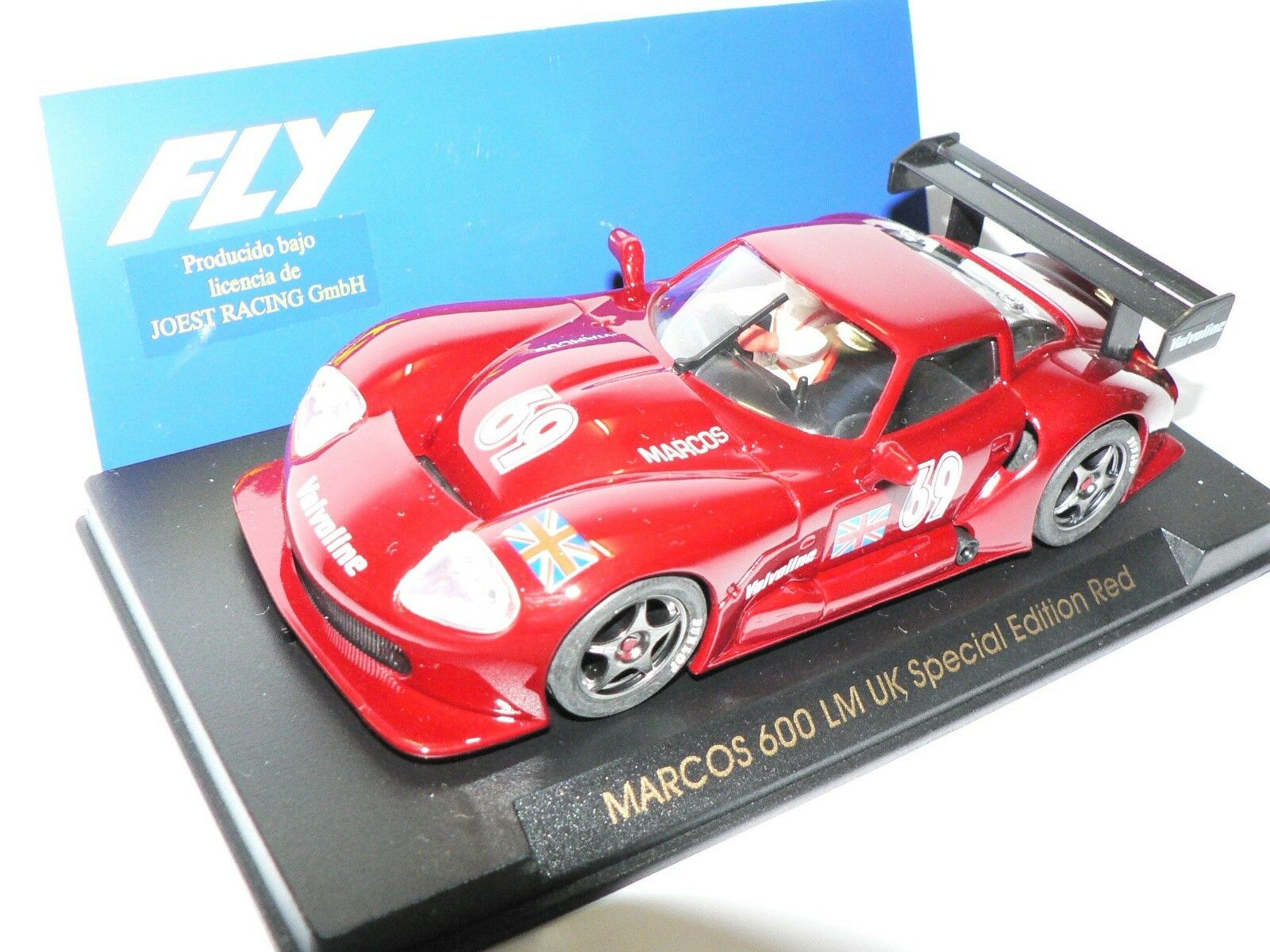 Fly Marcos 600 Lm UK Special Edition Red E21 Burdeos New