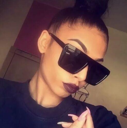** Celebrity Blogger Kardashian ha ispirato GRANDI OCCHIALI DA SOLE NERI QUADRATI-Free DELI