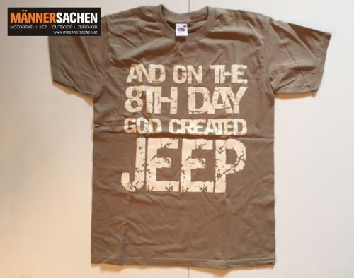 "JEEP /""KULT T-Shirt/"" Wrangler Rubicon Sahara TJ S-XXL LAGERND NEU On the 8th"