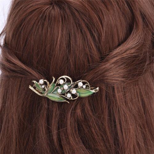 Gril Vintage-Schmuck Metall Branchen Haarnadeln für Frauen Hochzeit HaarspangeHM