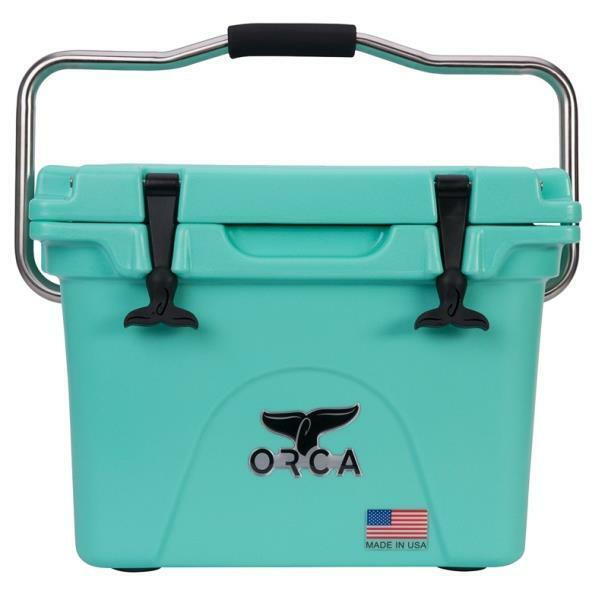 NEW ORCA ORCSF 20 SEAFOAM 20 QUART INSULATED ICE CHEST COOLER USA 5280391