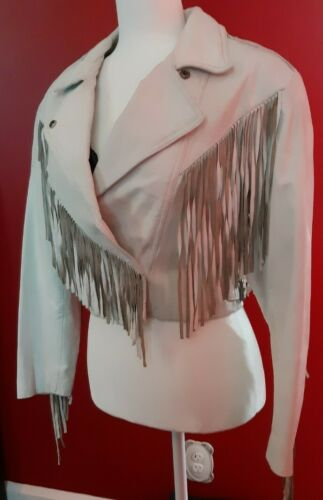 Vintage 80's Bermans Sloane Ferris Bueller White C