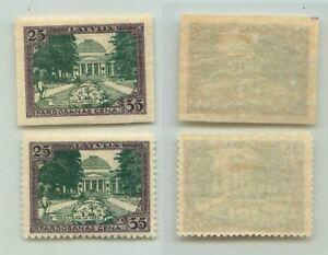 Lettonie-1925-SC-B26-neuf-sans-charniere-imperf-PERF-TIMBRE-POUR-comparer-non-inclus-f3914