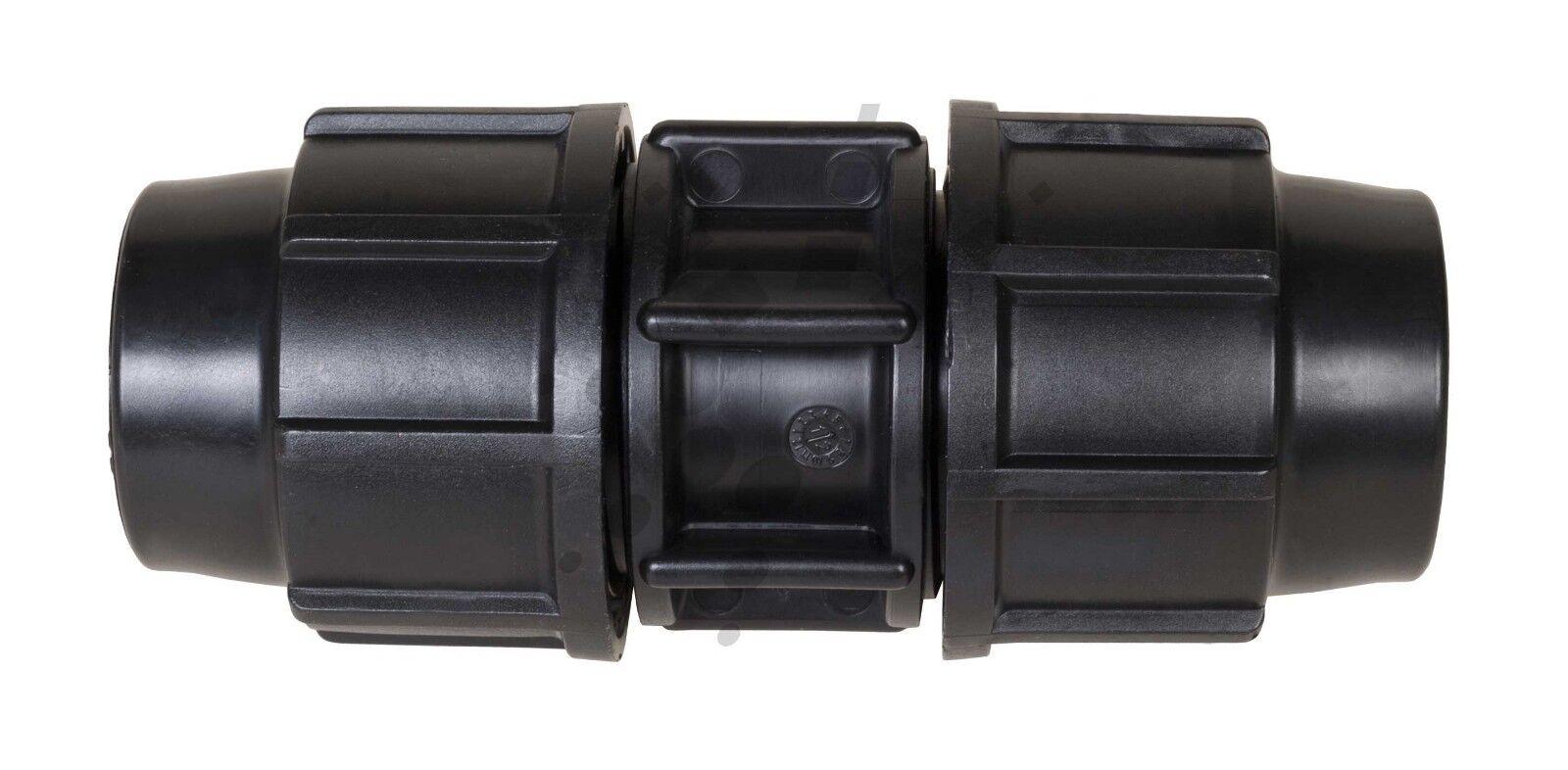 Plasson Heavy Duty Conector Acoplador De Compresión Montaje de riego 75 90 110mm