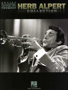 Herb Alpert Collection Trumpet Sheet Music Book-afficher Le Titre D'origine