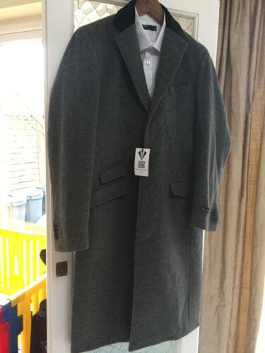 Coat amp; Platinum New Designer Wool The £119 Men's Rrp Grey 99 Tailor Cashmere 8wxU6qU