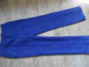 36 De Bi417 Wollhose Gr Castelbajac Chice Neuw Jc 42 Blau 0xdf77v
