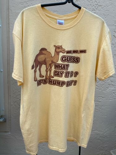 MIKE MIKE MIKE GUESS WHAT DAY IT IS? ITS HUMP DAY