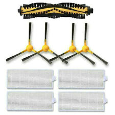 12Pcs Set Filters Side Brush For Tesvor X500 Robot Vacuum Cleaner Accessories