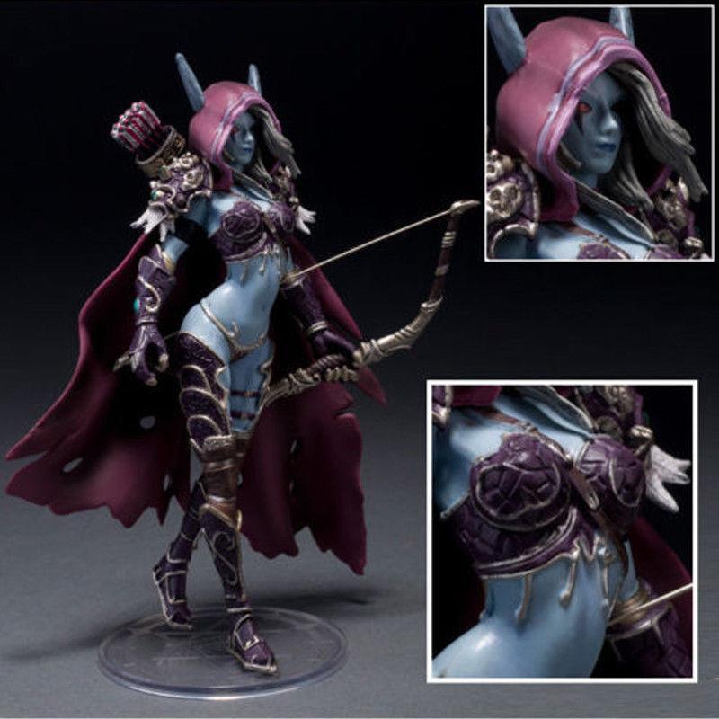 """WOW World of Warcraft 7/""""//18cm Forsaken Queen Sylvanas Windrunner Figure Model"""