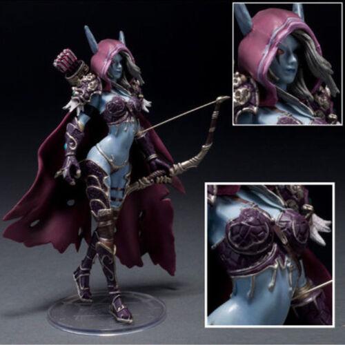 2018 Hot LADY-SYLVANAS-WINDRUNNER-World-of-Warcraft-Action-Figure-Vinyl-Figurine