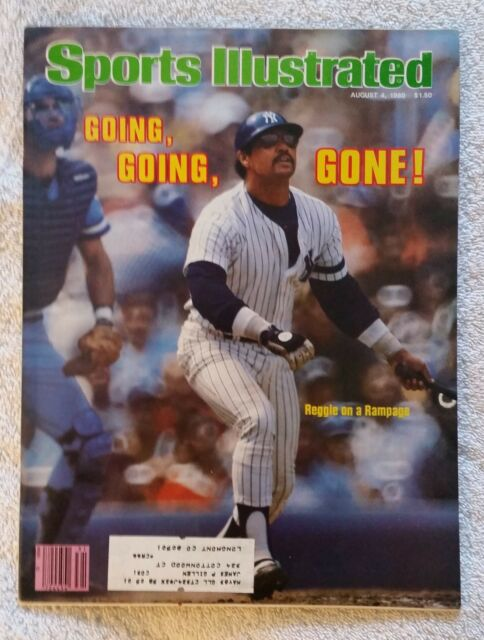 Sports Illustrated August 4, 1980; Going, Going, Gone! Reggie Rampage-RARE FIND!