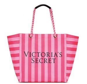 de rayures Sac édition toile Victoria's end à Secret en week limitée roses en Exp8PxWAqF