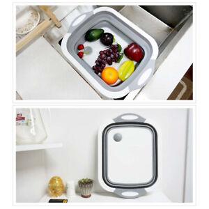Multifunction-Collapsible-Cutting-Board-Drain-Basket-Vegetable-Basin-Tub-2019Hot