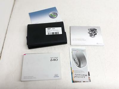 Hyundai I40 2011 A 2015 Manuale Portafoglio Libro Pack + Garanzia- Una Custodia Di Plastica è Compartimentata Per Lo Stoccaggio Sicuro