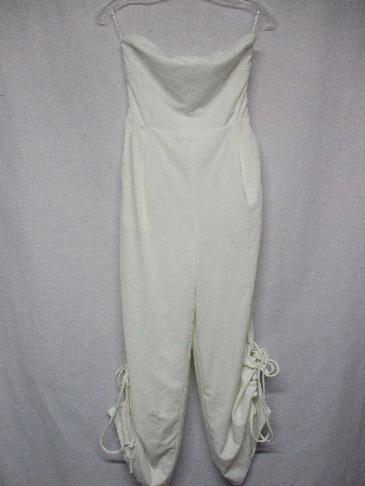 LUCCA  Women's Strapless Jumper Romper Cropped Pants Size XS       S6