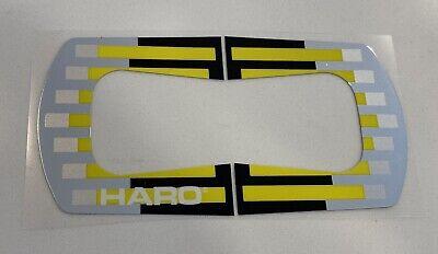 Old school BMX freestyle /'88 Coral Haro kneesaver handle bar stickers decals