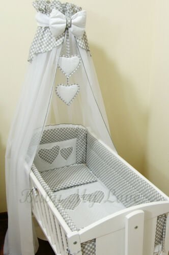 LOVELY  CANOPY DRAPE for BABY Basket Crib  //Craddle COT//COTBED//COT BED