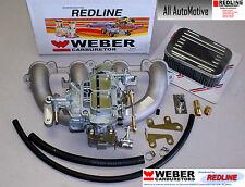 Volvo Penta Carburetor aq125 aq145 aq131 Weber Carburetor Conversion w/manifold