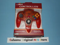 Nintendo 64 N64 (clear-fire) Controller With A 30 Day Guarantee