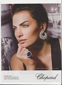 CHOPARD-HIGH-JEWELLERY-Pub-de-Magazine-Magazine-advertisement-2012-page-papier