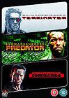 Terminator/ Predator/ Commando (DVD, 2009, 3-Disc Set)