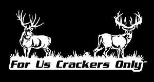 Cracker decal-F.U.C.O. For Us Crackers Only sticker-redneck decal-deer hunter n9J28kAs-07165647-453117566