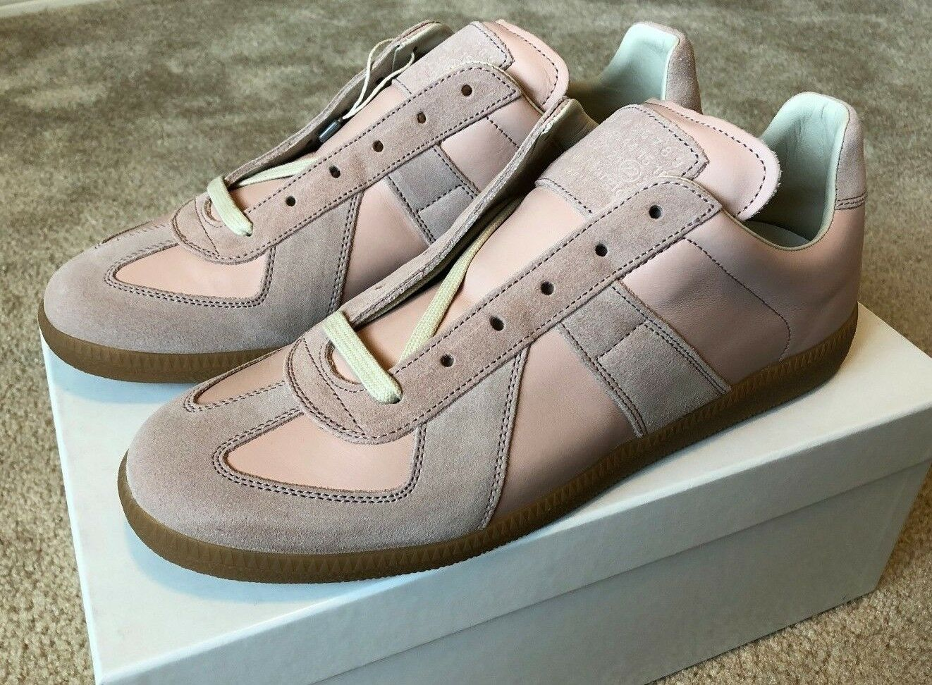 Maison Martin Margiela MMM Replica GAT Sneakers Blush sz 10 US 43 EU NEW 470