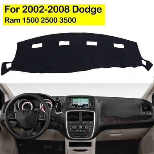 For 2002-2008 DODGE RAM 1500 2500 3500 Dashmat Dashboard Dash Cover Mat Carpet