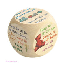 kleiner Gebetswürfel aus Holz - KINDERGEBETE - Kinder Gebet beten - bunte Bilder