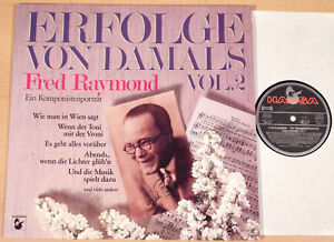FRED-RAYMOND-Erfolge-von-damals-2-HANSA-1983-Komponistenportrait-LP-MINT
