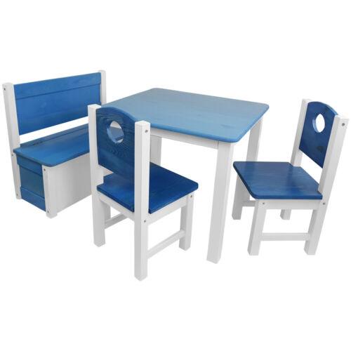 Siège enfant groupe 4tlg enfants meubles Set Salon Enfant Enfants Table Enfants Chaise