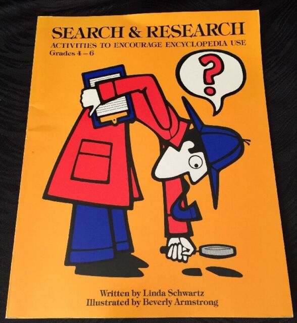 Study Skills: Search and Research Grd 4-8 Linda Schwartz Answer Key Reproducible