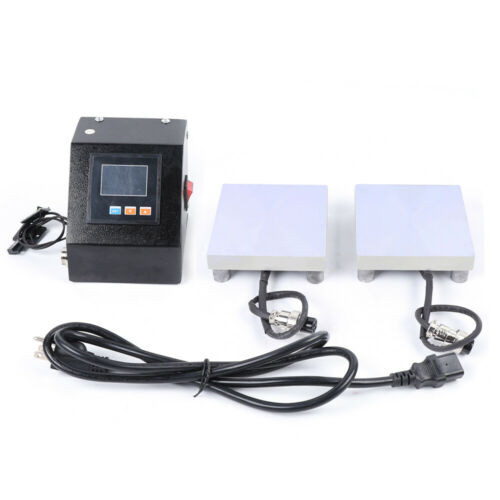 Rosin Press Plates Kit with Heating Rod Machine Temp Controllers Rosin US