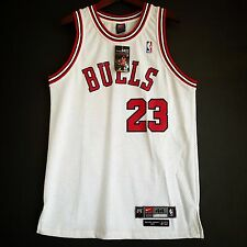 100% Authentic Michael Jordan Rookie Bulls Nike Home Jersey Size 44 NWT