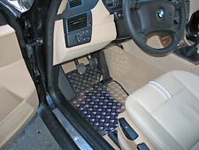 BMW X3 Typ E83/X83 Alu Fußmatten Set 5-tlg. DG-S