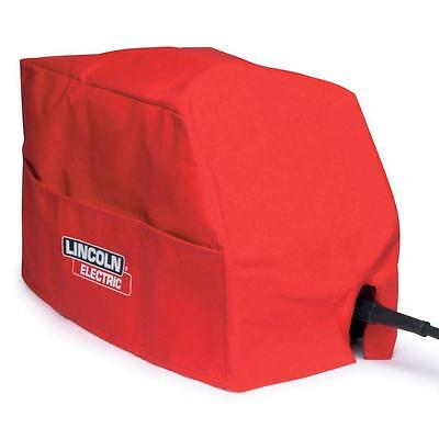 Lincoln Electric Welding Machine Cover Side Pocket Mildew Resistant Leather