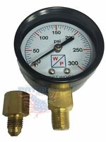 Pressure Test Gauge Kit For Beckett Suntec Webster Danfoss Oil Pumps W/ Adapter