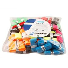 9 x BABOLAT OVERGRIP FOR TENNIS RACKET OVER GRIP ONE OF EACH COLOUR 0.6MM