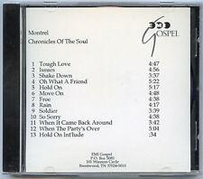 MONTREL DARRETT Chronicles of the Soul adv promo acetate CD 1999 Eddie DeGarmo