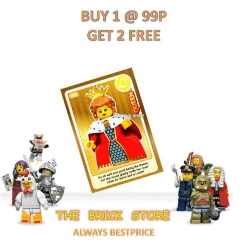 #092 CREATE THE WORLD TRADING CARD LEGO BESTPRICE QUEEN GIFT NEW