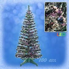 150 cm LED Weihnachtsbaum mit farbwechselnde Lichtfasern