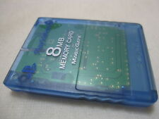 7-14 Days to USA SONY PS2 Memory Card Only. Made in Japanese Version Island Blue