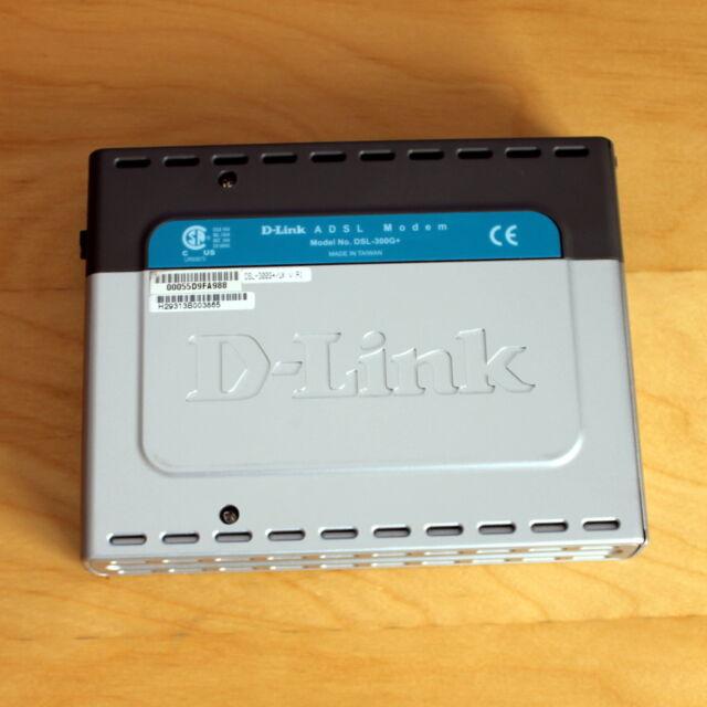 D-Link DSL-300G+ ADSL Modem